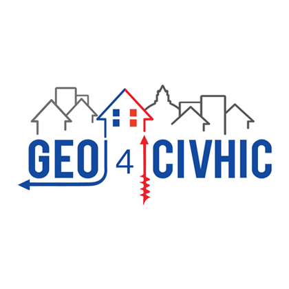 Most Easy, Efficient and Low Cost Geothermal Systems for Retrofitting Civil and Historical Buildings