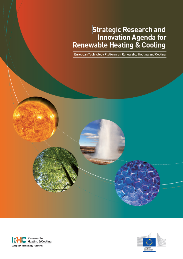 Strategic research and innovation agenda for renewable heating and cooling