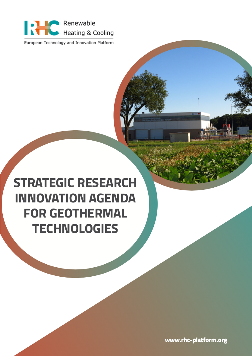 Strategic Research Innovation Agenda for Geothermal Technologies