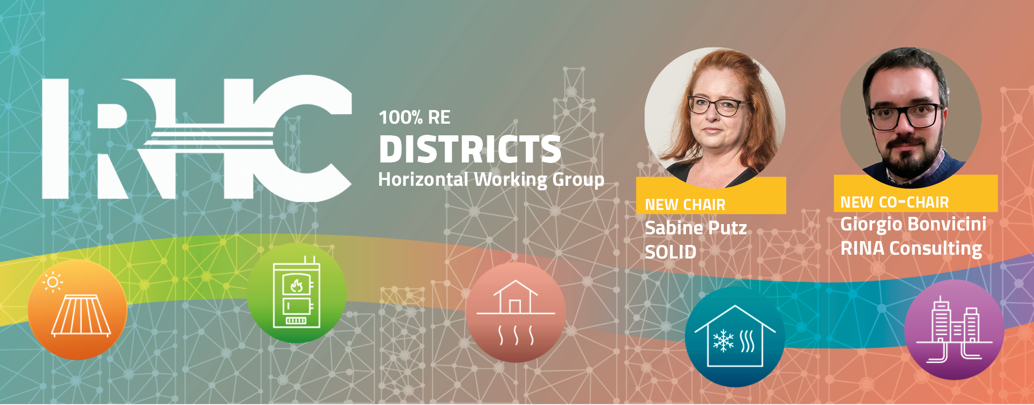 Meet the New  Chair and Co-chair of the 100% RE Districts Horizontal Working Group