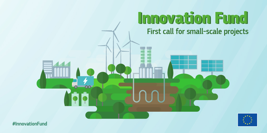 First Innovation Fund call for small-scale projects open until 10 March 2021