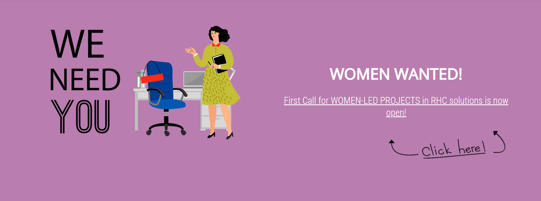 W4RES call for women-led projects!