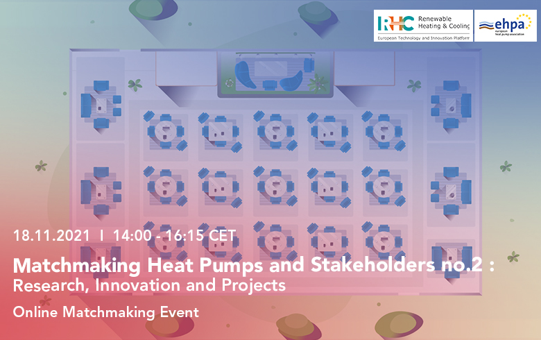 Matchmaking Heat Pumps and Stakeholders no. 2: Research, Innovation and Projects